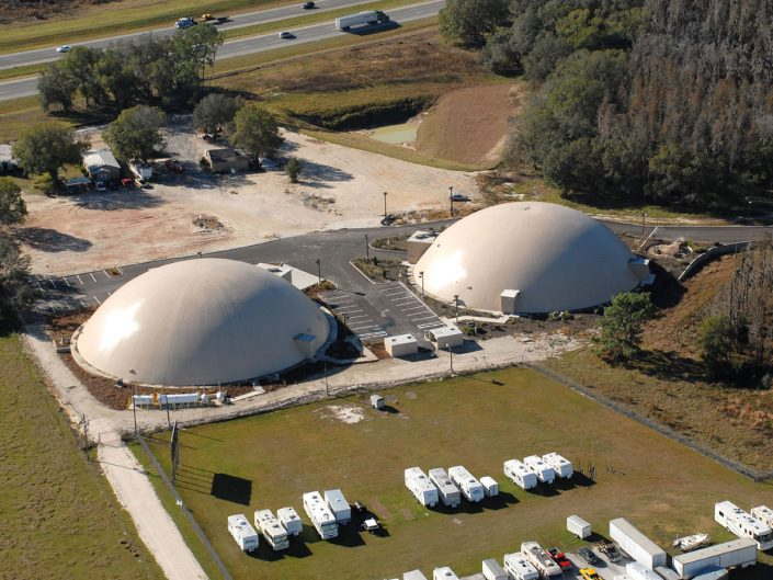 High Security Recovery Command Center Domes