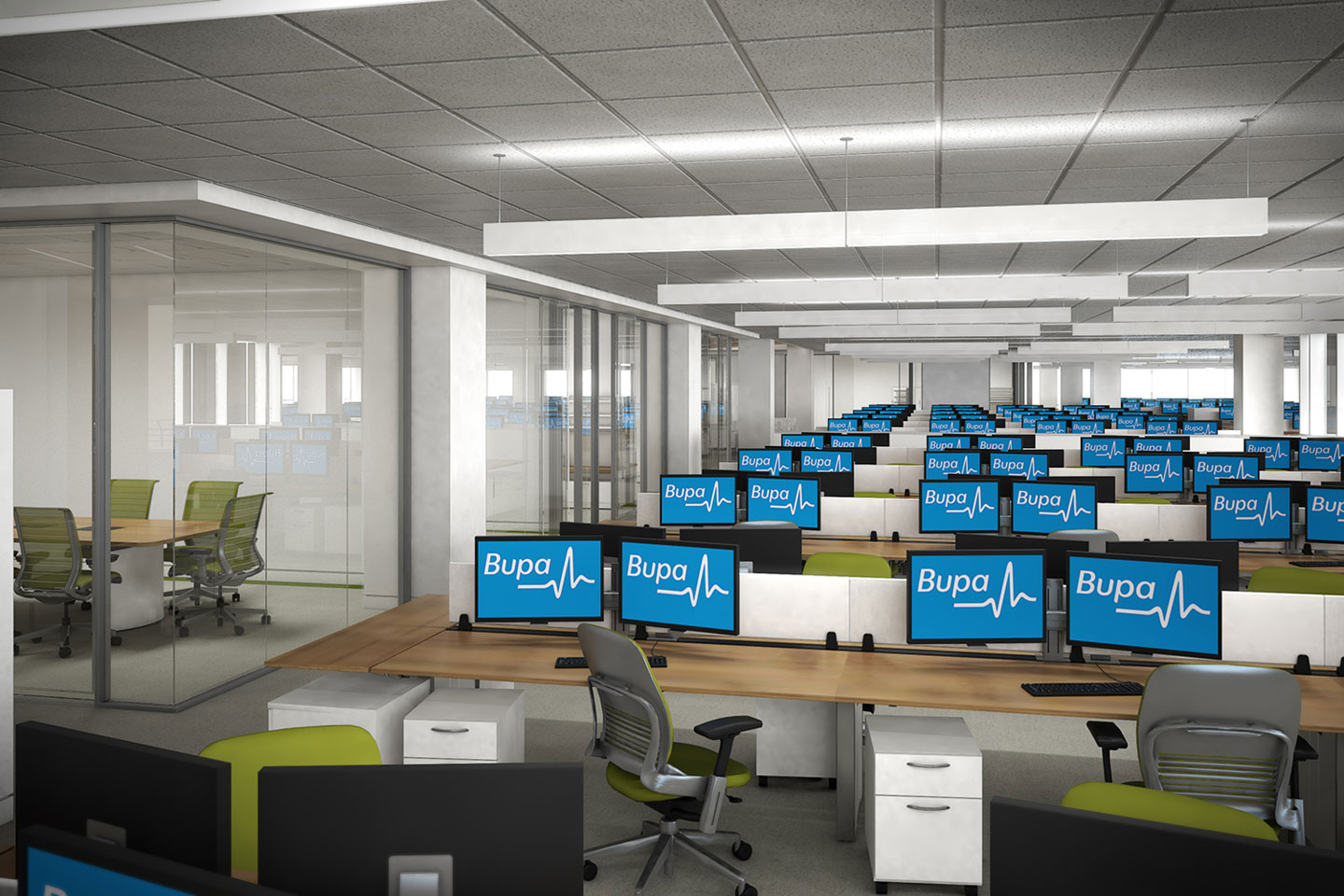photo of the bupa office