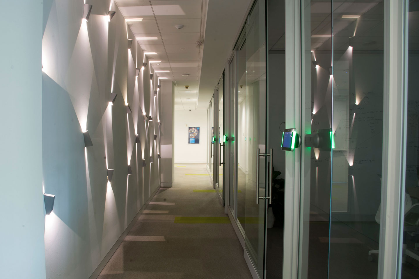 photo of the bupa office hallway