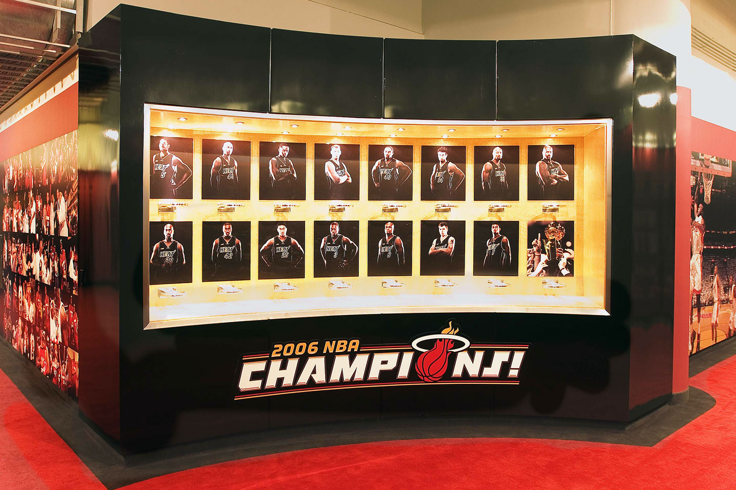 photo of miami heat champion hall