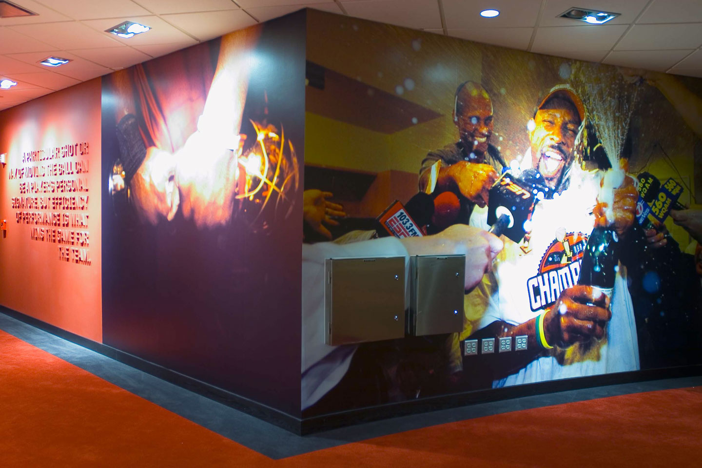 photo of american airlines arena champion hall