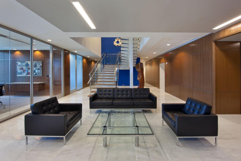 photo of the city national bank brickell lobby