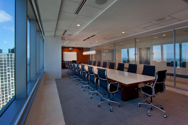 photo of a conference room at city national bank brickell
