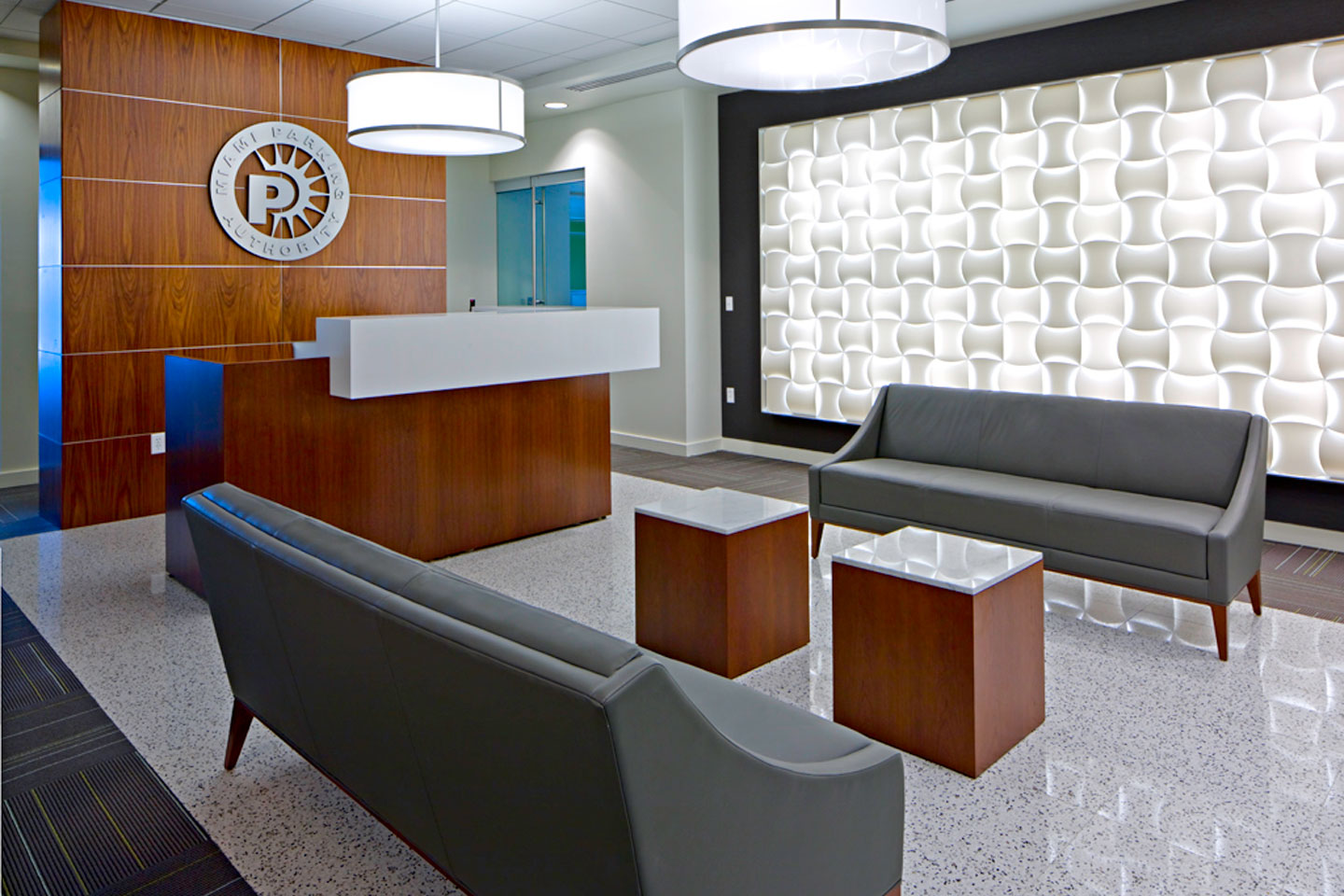 photo of the miami parking authority office