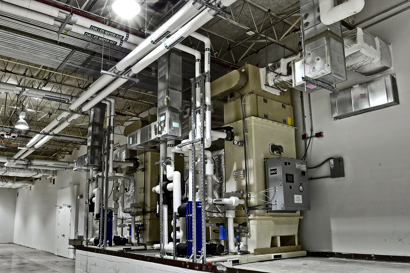 photo of the nutriforce industrial facility