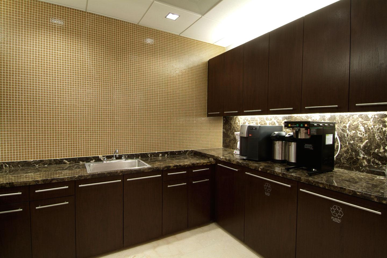 photo of the us trust kitchen