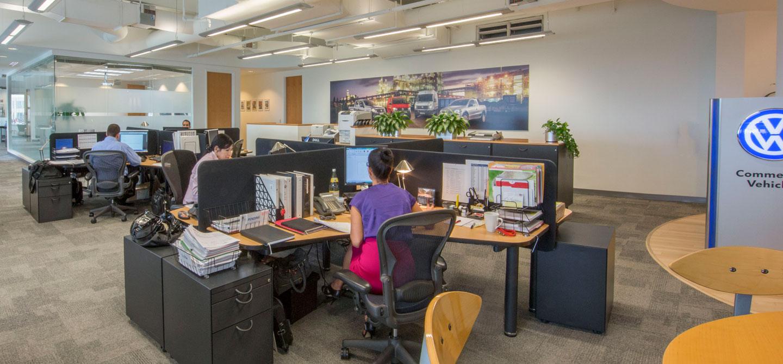 photo of the volkswagon latin america office